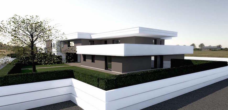 Rif. 1010 Nuovo Appartamento con giardino privato a Tombelle