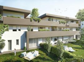 Rif. 1A Nuovo appartamento con giardino a Tombelle