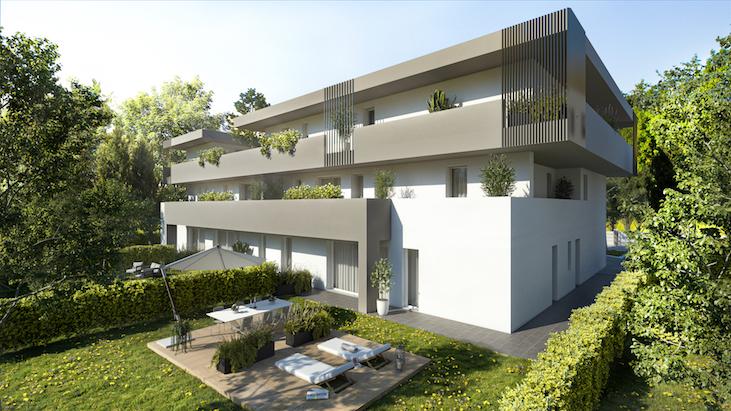 Rif. 4B Nuovo appartamento con terrazza a Tombelle