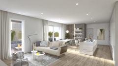 Rif. 6B Nuovo appartamento con terrazza solarium di 48 mq.